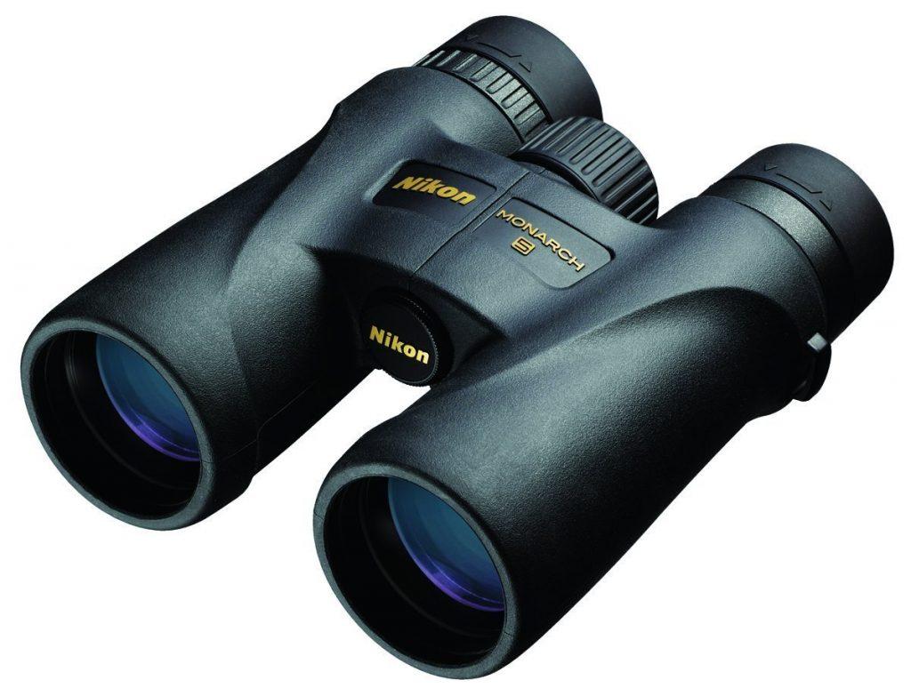 black premium binoculars
